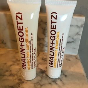Other - Malin + Goetz shampoo and conditioner travel size